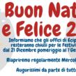 Chiusura Uffici Festività Natalizie