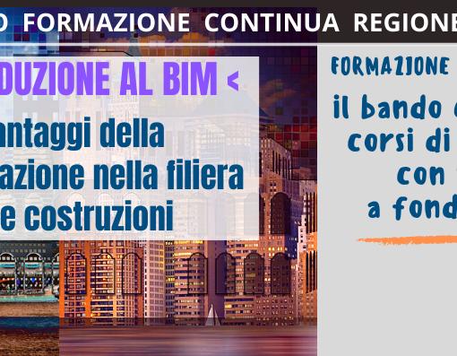 """CORSO DI FORMAZIONE """"INTRODUZIONE AL BIM""""<br>(Building Information Modeling)"""