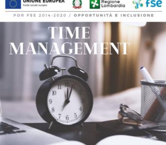 Corso TIME MANAGEMENT | Rimborso totale con Voucher Formazione Continua Regione Lombardia | Novembre 2021 <br> >>> formazione a distanza <<<